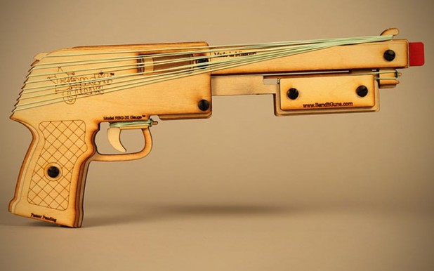 Bandit Guns - Rubber Band Shotgun