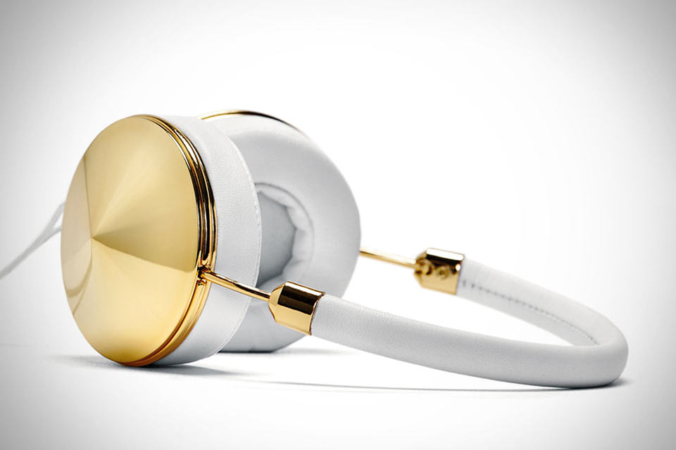 FRENDS Taylor Headphone Gold-White
