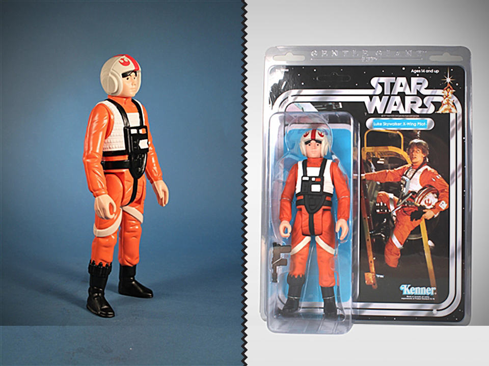Luke X-Wing Jumbo Kenner Figure