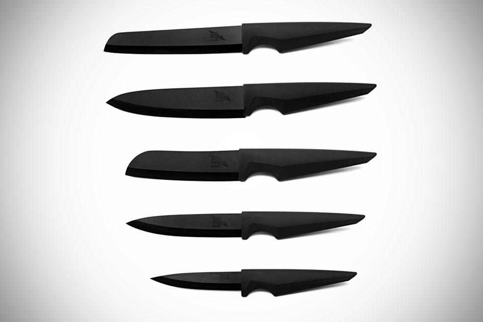 Edge of Belgravia Ceramic Series Knives Set