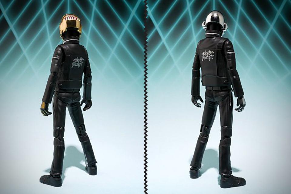 Daft Punk Action Figures - Back