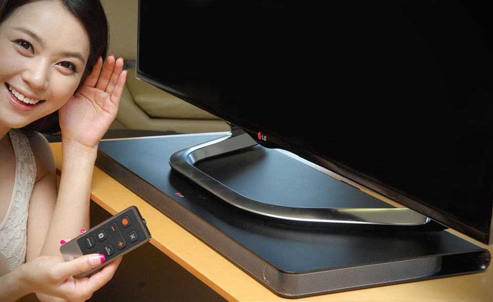 LG LAP340 Sound Plate - Sound Bar Reinvented