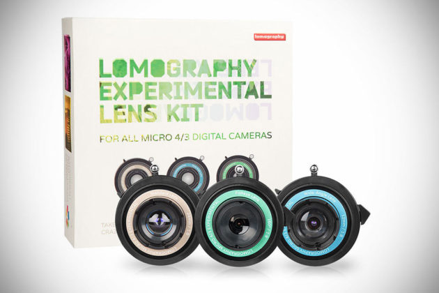 Lomography Experimental Lens Kit - The Package