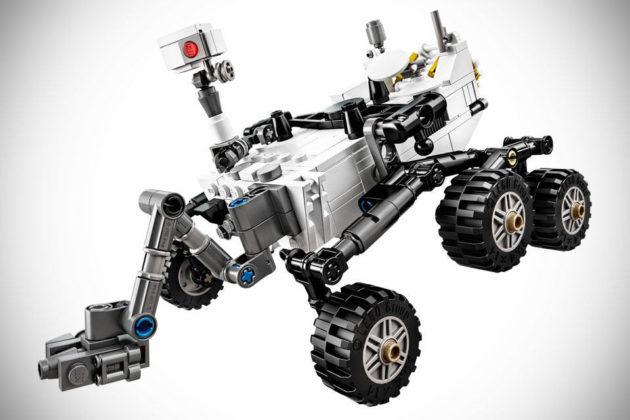 LEGO NASA Mars Science Laboratory Curiosity Rover Set