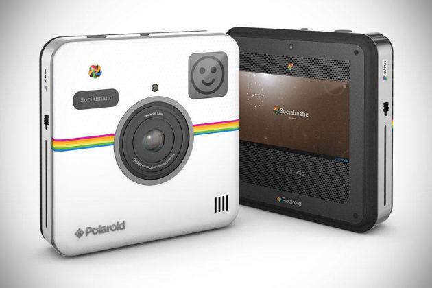 The Polaroid Socialmatic Camera