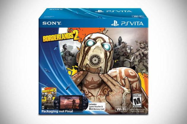 Borderlands 2 Limited Edition Playstation Vita Bundle
