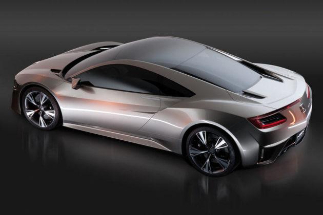 Honda NSX Prototype Hybrid All-Wheel Drive Supercar