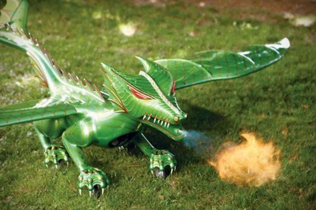 RC Fire-breathing Dragon