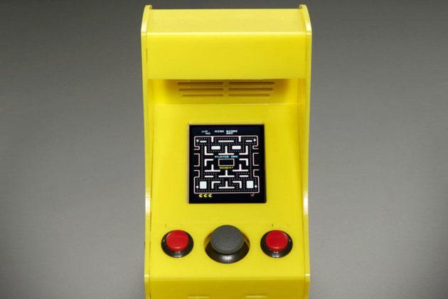Cupcade: Raspberry Pi-powered Micro Arcade Cabinet Kit