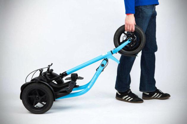 Me-Mover Elliptical-style Trike