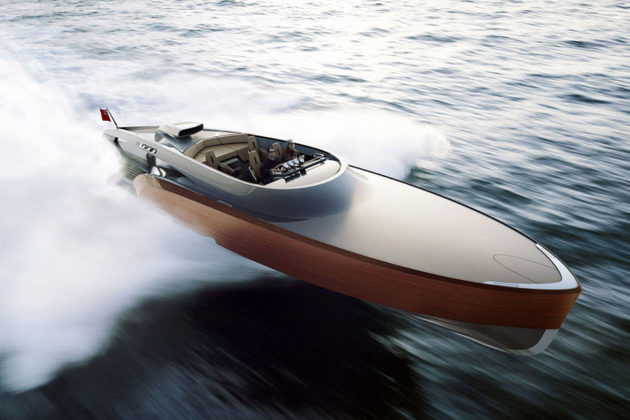 The Aeroboat Super-Yacht
