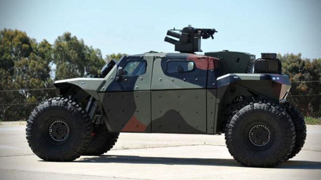 Israel Military Industries Combat Guard AFV