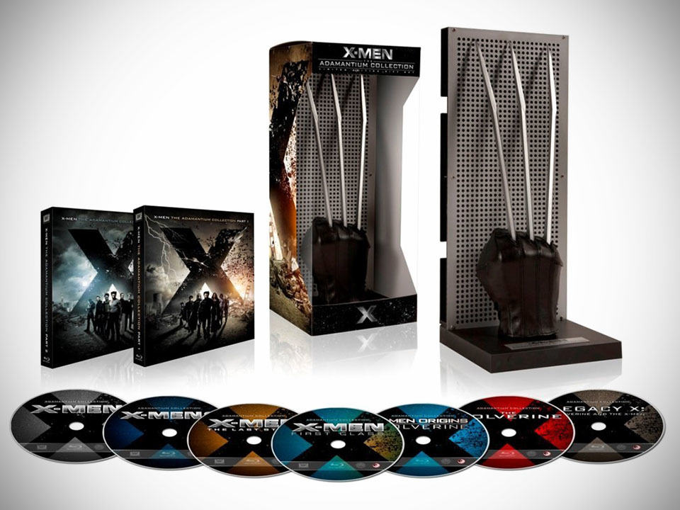 X-Men: The Adamantium Collection Limited Collector's Edition [Blu-ray]
