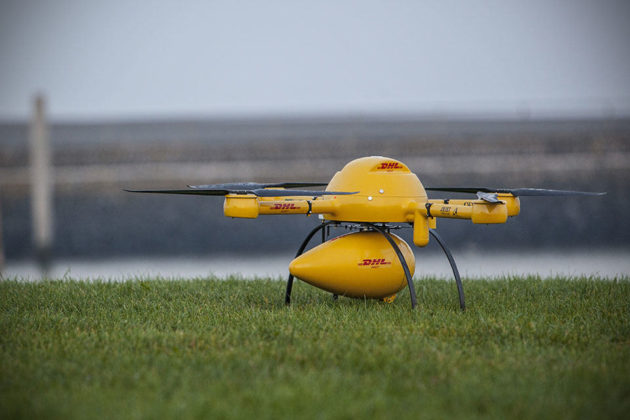 DHL Parcelcopter 2.0 Delivery Drone