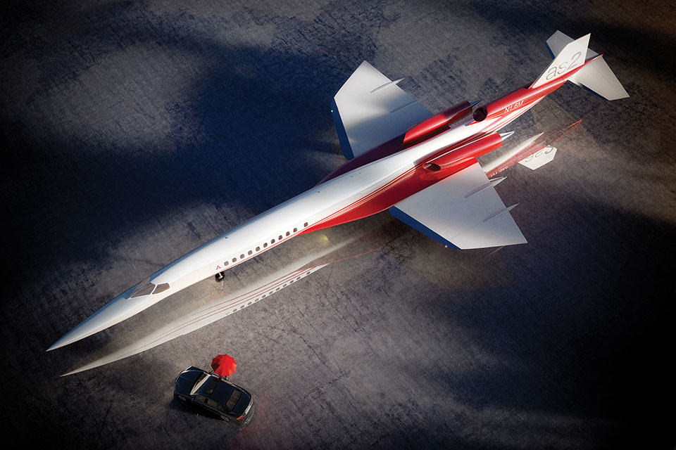 Aerion Supersonic AS2 Business Jet