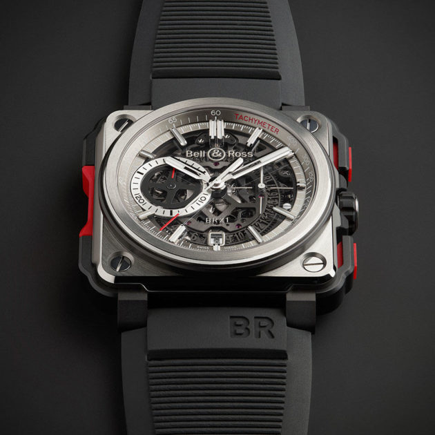 Bell & Ross BR-X1 Skeleton Chronograph Watch