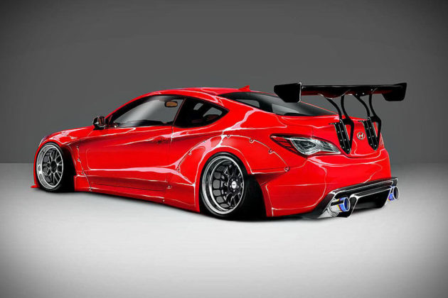 Blood Type Racing Hyundai Genesis Coupe