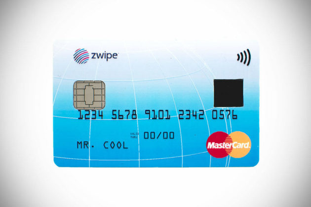 MasterCard Biometric Contactless Payment Card