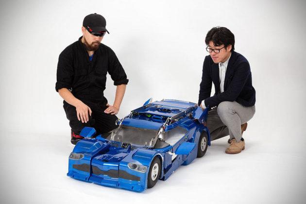 J-Deite Quarter Transforming Robot