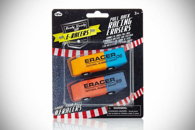 E-Racer Pullback Racing Erasers
