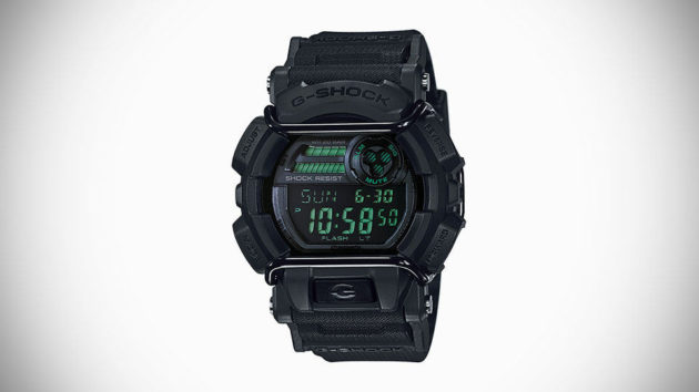 Casio G-SHOCK Military Black Series Watch For 2015 - GD-400MB