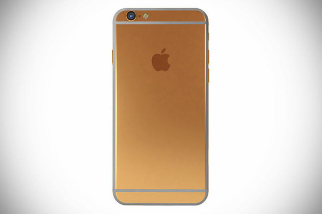 Gold iPhone by Hadoro Paris - Gold