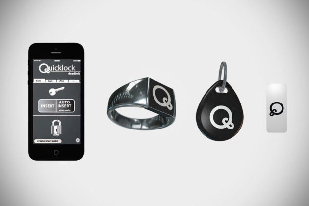 The QuickLock NFC and Bluetooth Locking System