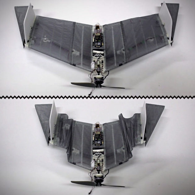 Deployable Air-Land Exploration Robot