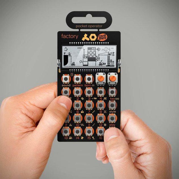 Teenage Engineering x Cheap Monday Pocket Operator Micro Synthesizer