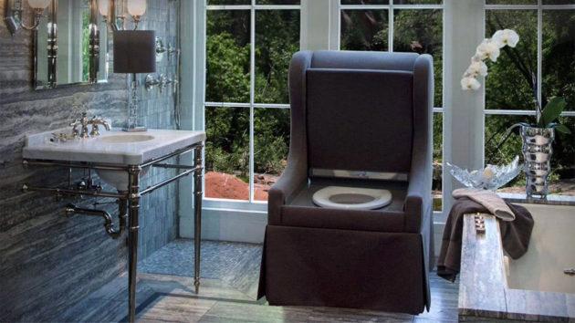 ToilèChic Luxurious Toilet Chair