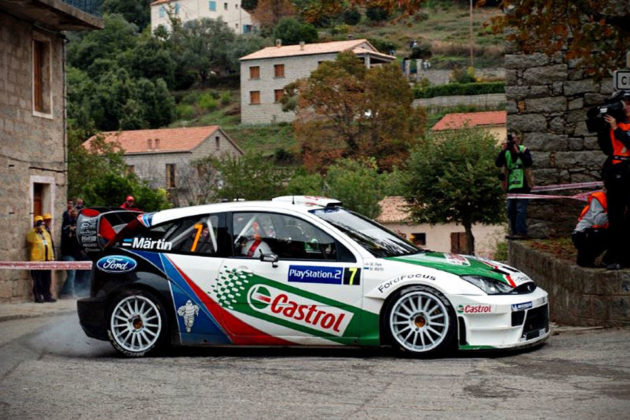 2005 Ford Focus WRC Winning Rally Car