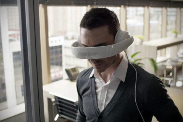 Dashbon Mask Video Headphones