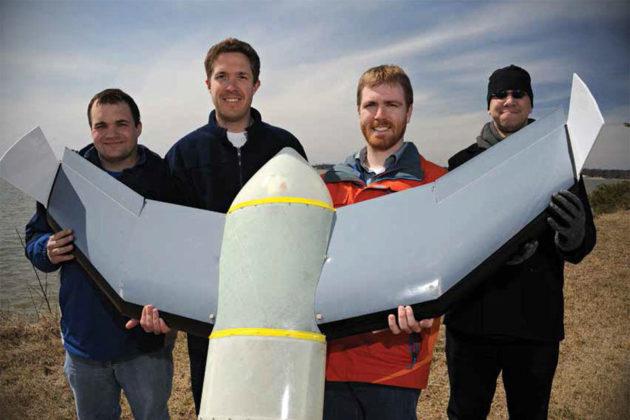 U.S. NRL Flimmer Flying Submarine