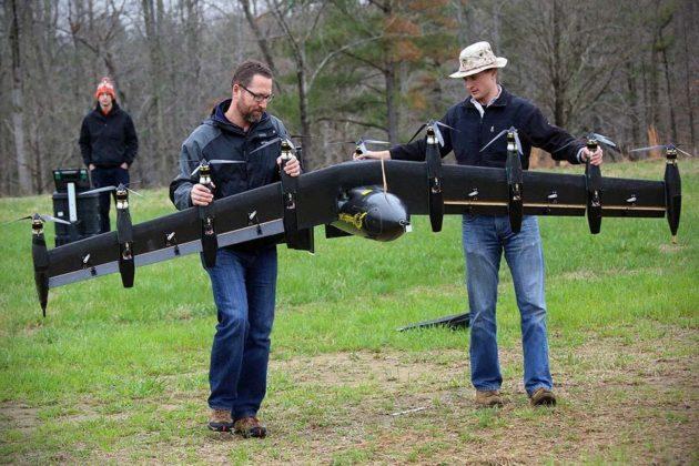 NASA Greased Lightning GL-10 VTOL Drone - Pre-flight