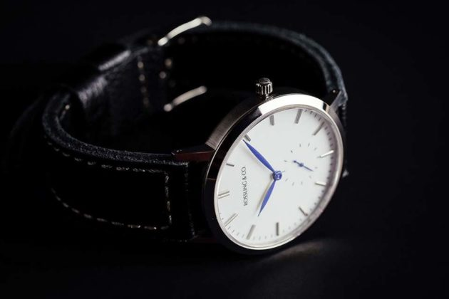 Ultra-thin 60s-inspired Wrist Watch by Rossling & Co.