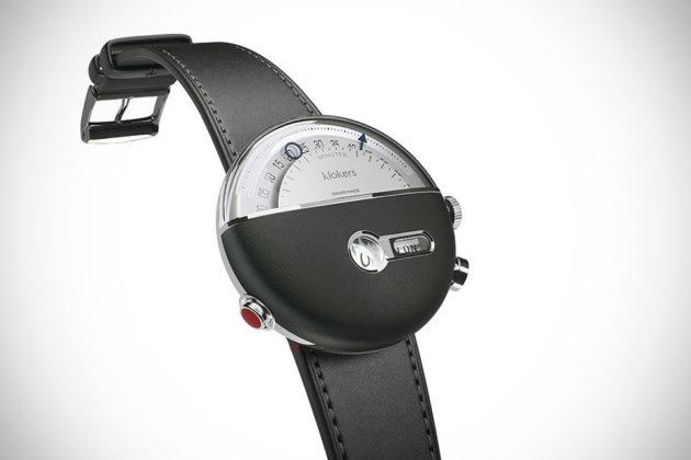 "Klokers KLOK-02 ""Time Travelling"" Wrist Watch"