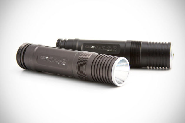 Atlas C57 Carbon Fiber and Titanium Flashlight