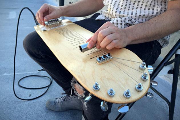 Lap Skate Guitar by Stereotank