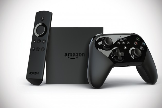 Amazon Fire TV with Voice Remote and Game Controller