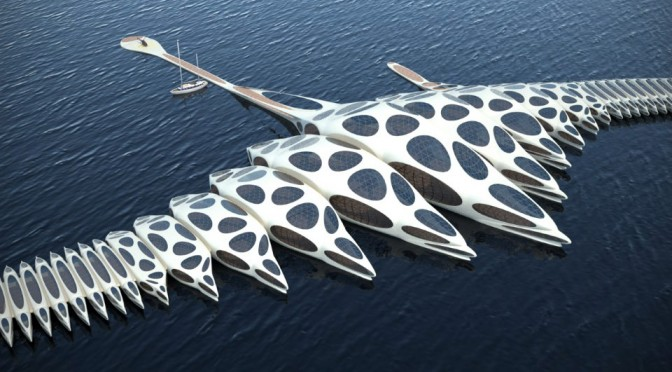 This Alien Object-Like Floating Hotel Wants To Sail The World, Slowly