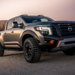 Nissan TITAN Warrior Concept Gets Modified Off-road Suspension And Desert Racing-inspired Design