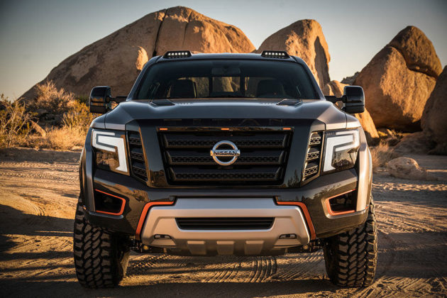 Nissan TITAN Warrior Concept Pickup Truck