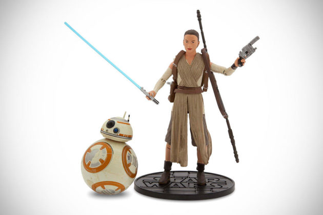 Star Wars - The Force Awakens Toys Rey with BB-8