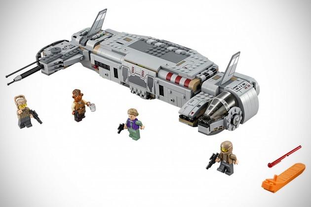 Star Wars - The Force Awakens Toys LEGO Resistance Troop Transporter