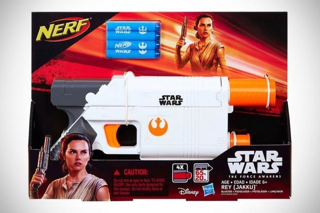 Star Wars - The Force Awakens Toys NERF Rey Blaster