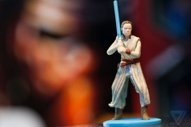 New Edition Star Wars Monopoly with Rey Figure