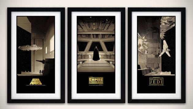 Star Wars Saga Variant Posters