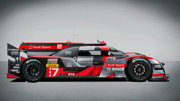All-new 2016 Audi R18 LMP1 Race Car