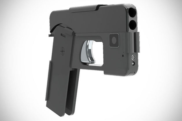 Ideal Conceal Double Barrel .380 Caliber Smartphone Pistol