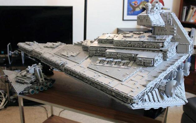 Custom LEGO Imperial Star Destroyer Tyrant by Doomhandle